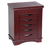 Mele & Co. Arden Wooden Jewelry Box in MahoganyFinish - H287369