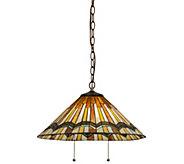 Meyda Tiffany-Style Prairie Delta Pendant Lamp - H288169
