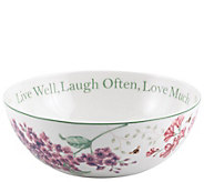 Lenox Butterfly Meadow Live Laugh Love Bowl - H288469