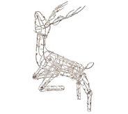 48 Outdoor 105-Light Multi Positional Deer Sculpture - H352069