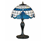 Tiffany Style Baroque Accent Lamp - H112370