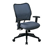 Office Star Steel Blue Deluxe Chair with VeraFlex - H154970