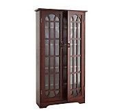 Lyndon Cherry Double Door Media Cabinet - H155570