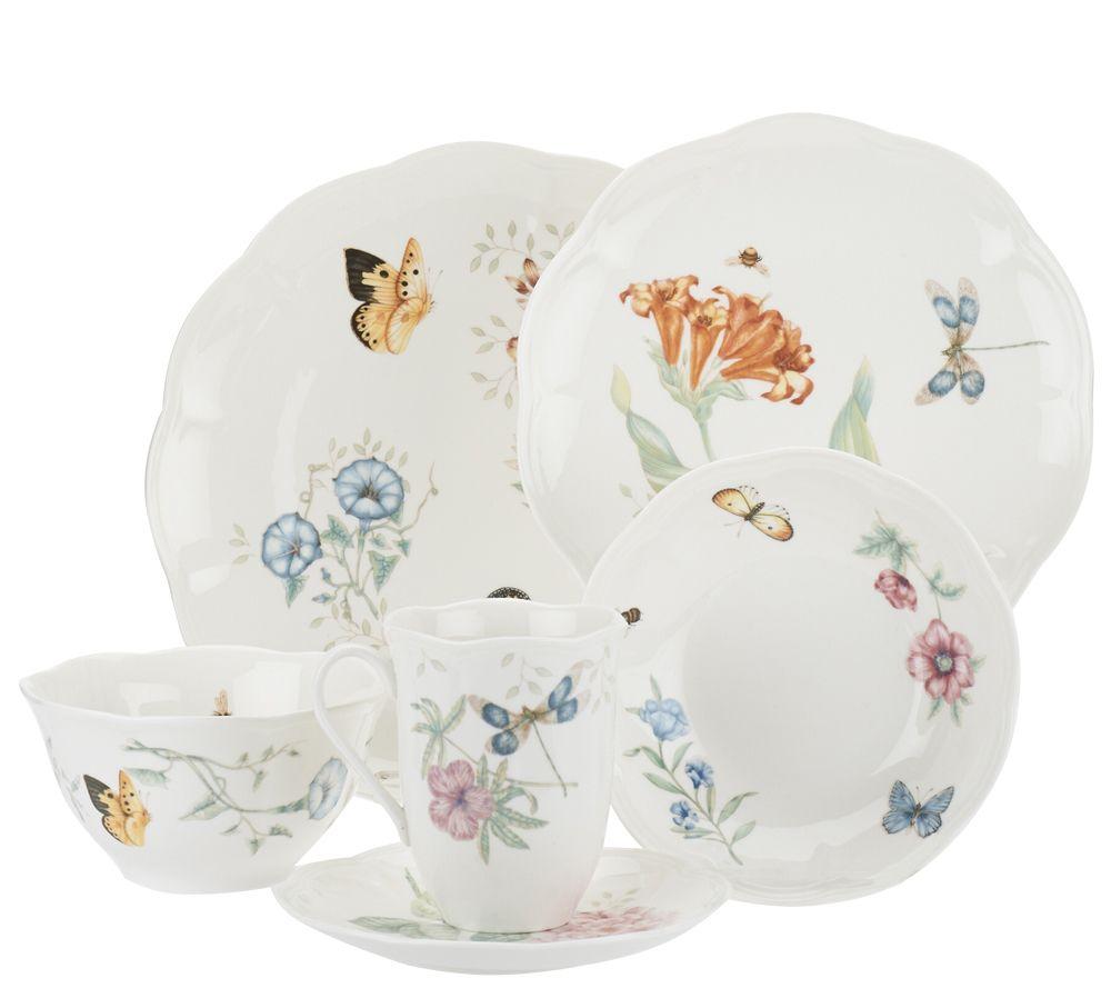 Lenox Butterfly Meadow 24-pc. Porcelain Dinnerware Set - Page 1 ...