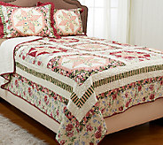 Jewel Star Twin 100Cotton Quilt Set with Sham - H205870