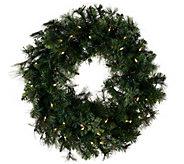 As Is Bethlehem Lights 24 Cashmere Wreath - H208370