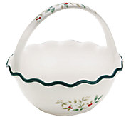 Pfaltzgraff Winterberry Handled Ruffled Bowl - H284870