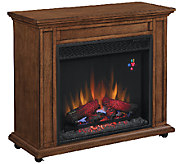 Duraflame Davis Infrared Rolling Mantel Fireplace Heater - H286270