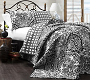 Aubree 3-Piece King Quilt Set by Lush Decor - H290570