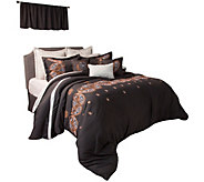 Lavish Home Ashley 18-Piece King Comforter Set - H290770