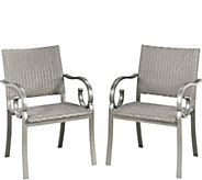 Home Styles Capri Set of 2 Arm Chairs - H291770