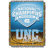2017 NCAA Champs UNC Tar Heels Tapestry Throw - H292470