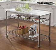 Home Styles The Orleans Kitchen Island with Marble Top - H357570
