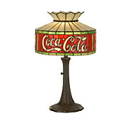 Tiffany-Style Coca-Cola Accent Lamp - H159771