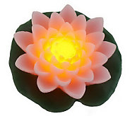 Home Reflections Floating Flower Flameless Candle & Timer - H194671