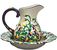 Temp-tations Figural Floral 2 qt. Pitcher and 12 Bowl Set - H205071
