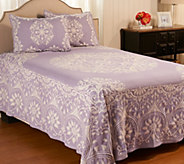 Medallion Jacquard_100Cotton FL Bedspread with Shams - H207671