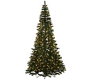 7-1/2 Half Tree with Clear Mini Lights by Vickerman - H281971