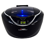 GemOro Prestige Series Ultrasonic Jewelry Cleaner, Black - H282571