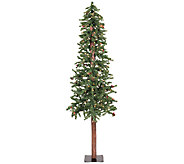 5 Prelit Frosted Alpine Berry Tree by Vickerman - H286671