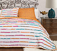 Umbria Quilts Tangerine 2-Piece Twin Set by Lush Decor - H287471