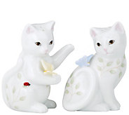 Lenox Butterfly Meadow Kitten Salt Pepper Set - H288471