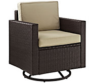 Palm Harbor Outdoor Wicker Swivel Rocker Chair - H288571