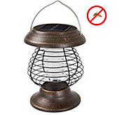 Wakeman Outdoors Solar Power UV Mosquito ZapperLantern - H294171