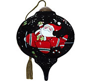 3.00 Santa Takes Flight Ornament by NeQwa - H294271