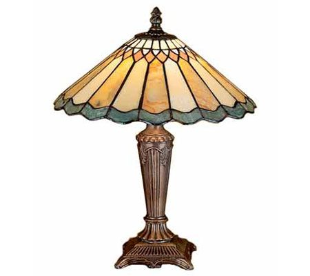 Tiffany Style Jadestone Carousel Accent Lamp - Page 1 ...