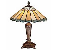 Tiffany Style Jadestone Carousel Accent Lamp - H112372