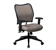 Office Star Taupe Deluxe Chair with VeraFlex - H154972