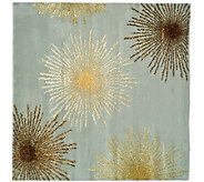 Soho 6 Square Abstract Handtufted Wool/ViscoseBlend Rug - H178572