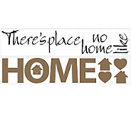 RoomMates No Place Like Home Peel & Stick WallDecals - H186272
