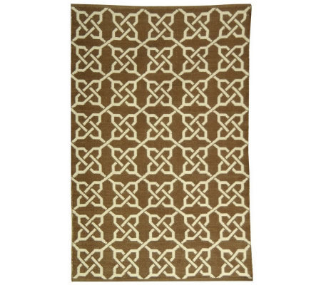 Thom Filicia 4 x 6 Tioga Recycled Plastic Outdoor Rug