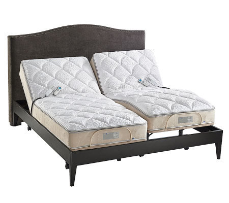 Sleep number icon 10 split king adjustable bed set for Sleep number mattress prices