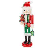 "14"" Holiday Nutcracker Figurine by Valerie"