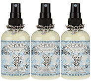 Poo-Pourri Set of (3) 4 oz. Bathroom Deodorizers in Organza Bags - H207572