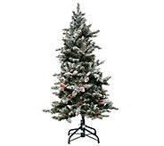 As Is Bethlehem Lights 5 Woodland Pine Christmas Tree - H210272