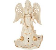 As Is Lenox Porcelain & Pearl Lit Figurine w/24K Gold Accents - H214872