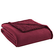 Shavel Micro Flannel Sherpa Twin Blanket - H291572