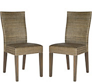 Fausta Set of 2 Side Chairs by Valerie - H291672