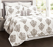 Damask 6-Piece King Comforter Set by Lush Decor - H292572