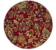 Antique Garden Window 78 Round Rug by Oriental Weavers - H355472