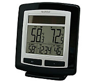La Crosse Technology WS-6010 Wireless Solar Temp Station - H356372