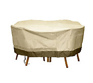 Sure Fit Deluxe Round Table & Chair Set Cover - H361072