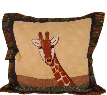 Giraffe Decorative Pillow : Giraffe Decorative Pillow by Donna Sharp - H112573 ? QVC.com