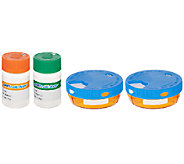 Set of 4 Daily Pilltracker Holders by Lori Greiner - H202673