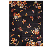 Royal Palace Butterfly Radiance 8 x 109 Wool Rug - H202773