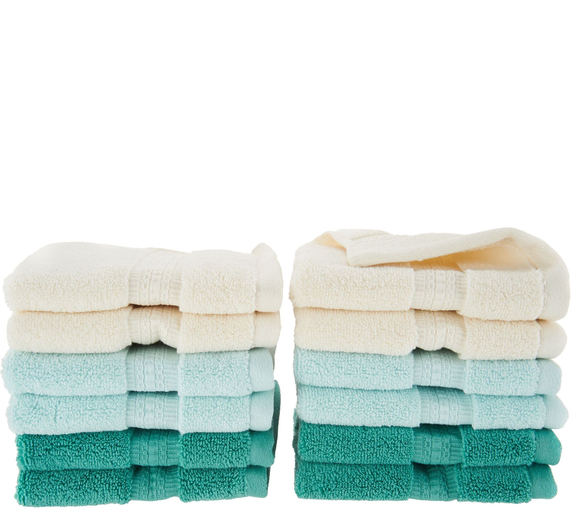 Northern Nights 600gsm 100% Cotton Set Of 12 Wash Cloths   H205073
